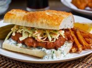 The Caribbean Fish Sandwich