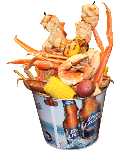 Try our new Giant Seafood Bucket and see why people say it's better being Harry!